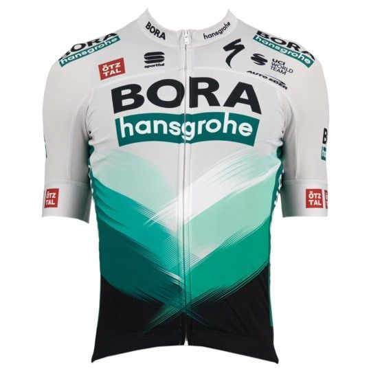 Bora Hansgrohe 2021 Radtrikot kurzarm 1
