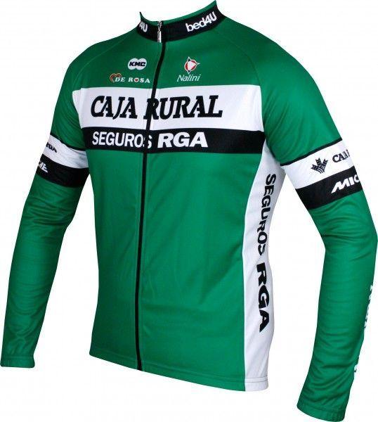 CAJA RURAL - SEGUROS RGA 2018 Radtrikot langarm - Nalini Radsport-Profi-Team Größe L (4)