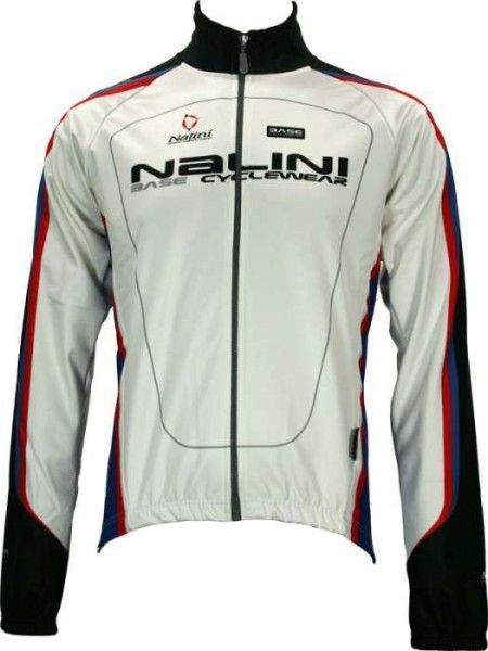 CALCE weiß - Radsport-Jacke (Winterjacke) - Nalini CLASSIC Radsportbekleidung
