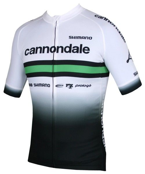 Cannondale FACTORY RACING 2020 Radtrikot kurzarm weiß 1