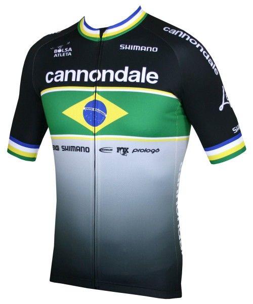Cannondale Factory Race brasilianischer Meister 2020 Radtrikot 1