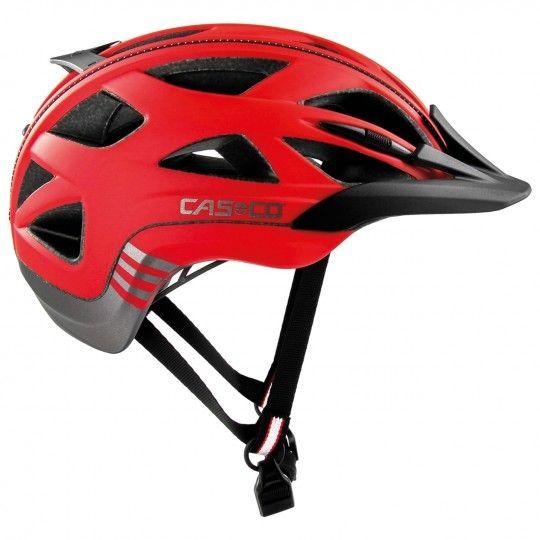 Casco ACTIV 2 Fahrradhelm rot/anthrazit matt 1
