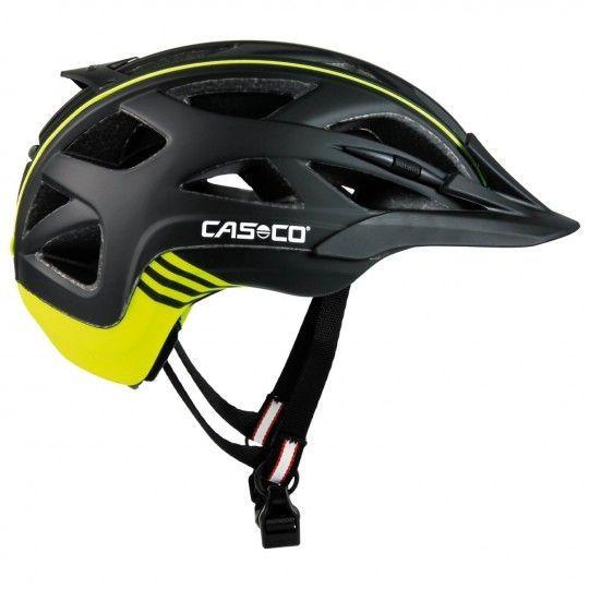 Casco ACTIV 2 Fahrradhelm schwarz/neongelb 1