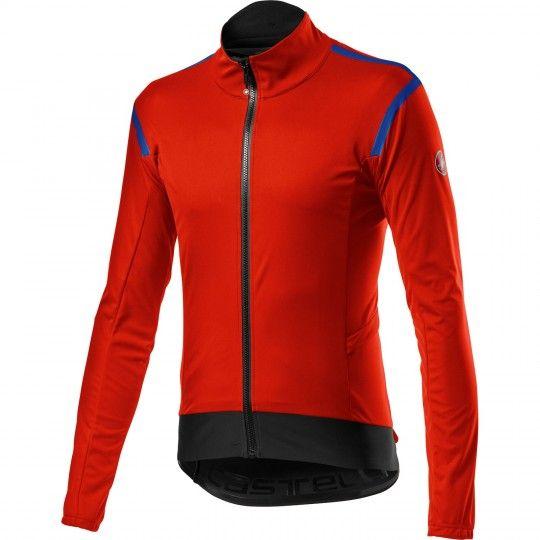 Castelli alpha RoS 2 light Fahrradjacke rot 1