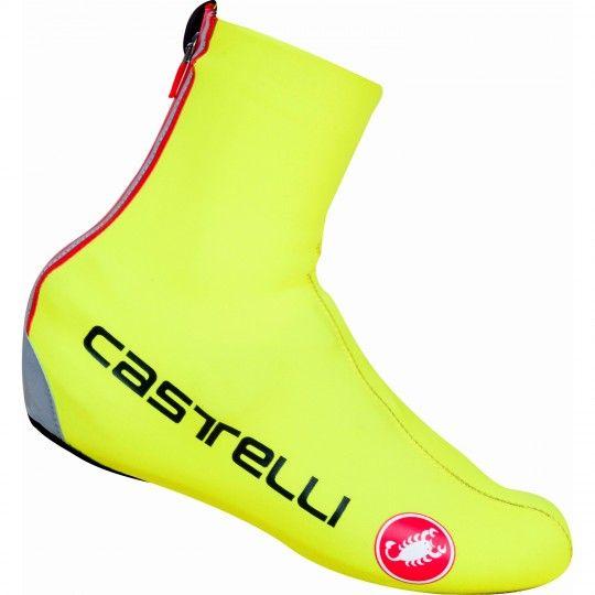 Castelli DILUVIO C Themoüberschuhe neongelb 1