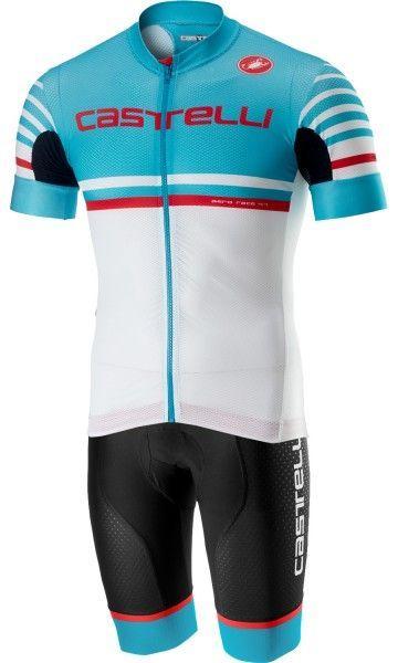 Castelli FREE AERO RACE KIT Radsport-SET schwarz/sky blau 1
