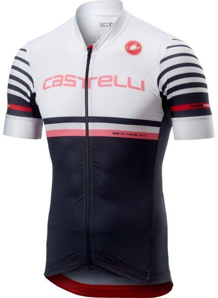 Castelli FREE AR 4.1 Radtrikot kurzarm weiß/schwarz 1