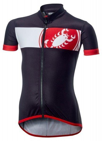 Castelli FUTURE RACER KID short sleeve cycling jersey black
