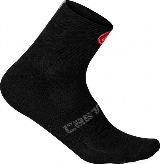 Castelli Quattro 6 Socke schwarz