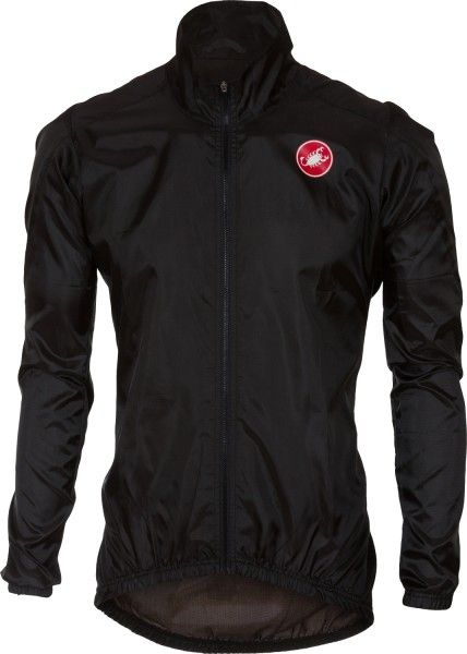 Castelli SQUADRA ER - windproof cycling jacket black