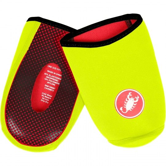 Castelli TOE THINGY 2 - toe cover yellow fluo