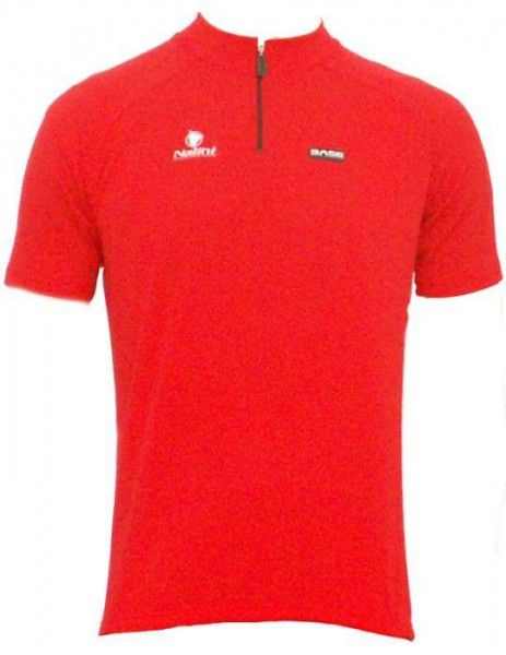Nalini Base cycling jersey for kids AKELA red