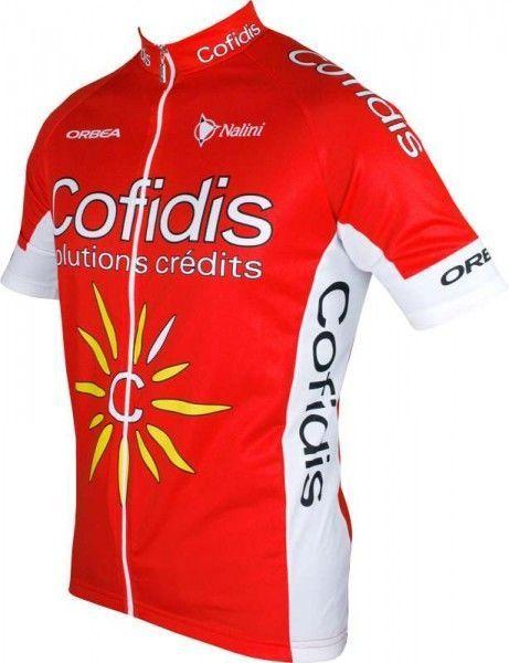 COFIDIS 2016 Kurzarmtrikot (langer Reißverschluss) Nalini Radsport-Profi-Team Größe XXL (6)