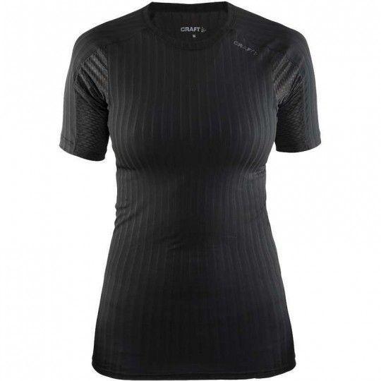 Craft Active Extreme 2.0 Damen kurzarm Unterhemd schwarz 1