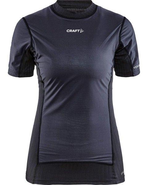 Craft Active Extreme X Damen kurzarm Unterhemd windschutz sw 1