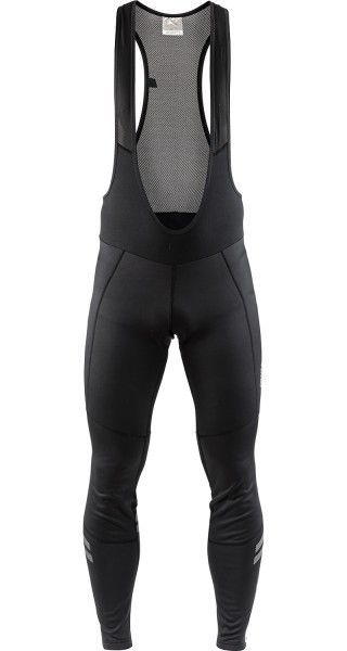 Craft Ideal Wind Bib Tights Tägerhose lang schwarz 1