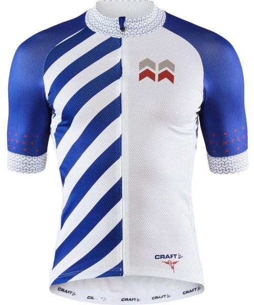 Craft Specialiste Radtrikot kurzarm weiß/blau 1