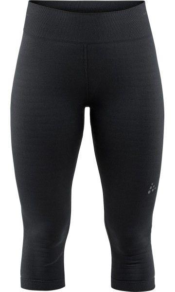 Craft Warm Comfort Knicker Damen 3/4 Unterhose schwarz 1