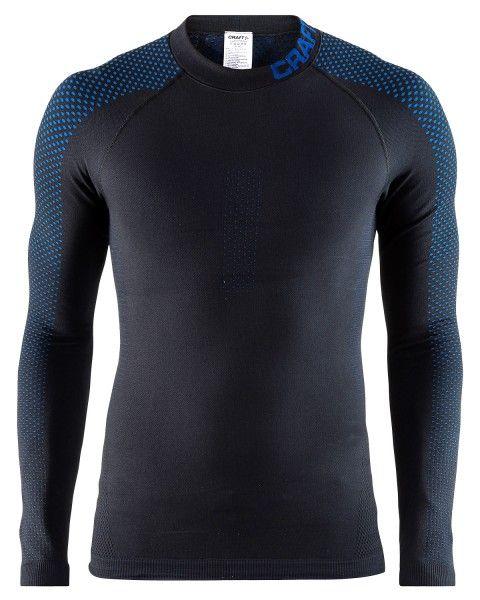 craft warm intensity langarm unterhemd schwarz blau 1
