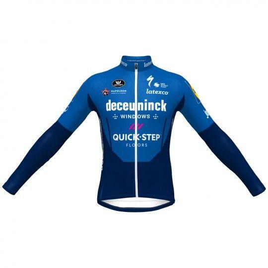 Deceuninck-Quick-Step 2021 long sleeve cycling jersey - Vermarc professional cycling team