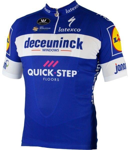 Deceuninck-Quick-Step 2019 Radtrikot kurzarm kurzer RV 1