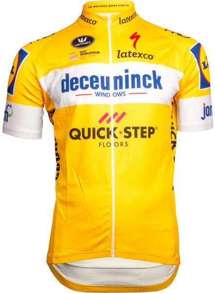 Deceuninck-Quickstep 2019 Tour Special Edition Radtrikot gelb 1