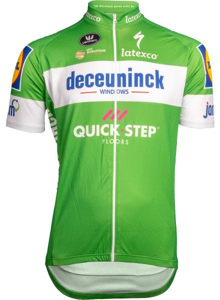 Deceuninck-Quickstep 2019 Tour Special Edition Radtrikot grün 1