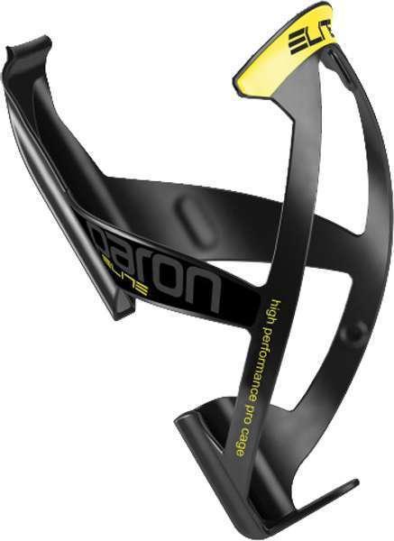 Elite Flaschenhalter PARON RACE schwarz-matt/fluo-gelb schwarz/gelb