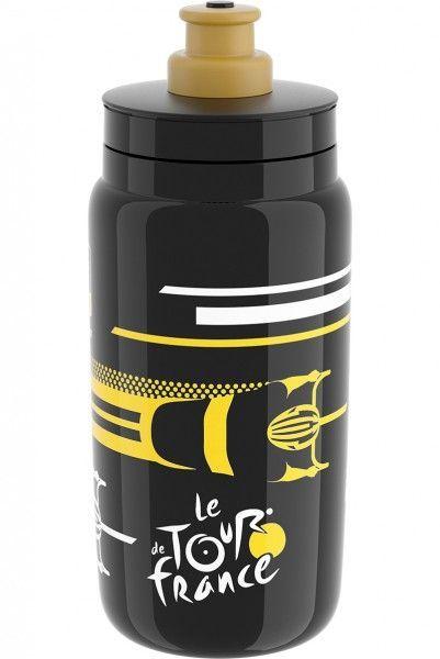 Tour de France Trinkflasche 550 ml schwarz 1