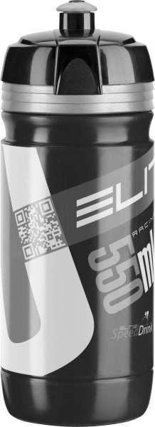Elite CORSA 550ml Trinkflasche schwarz/silber Inhalt 550 ml