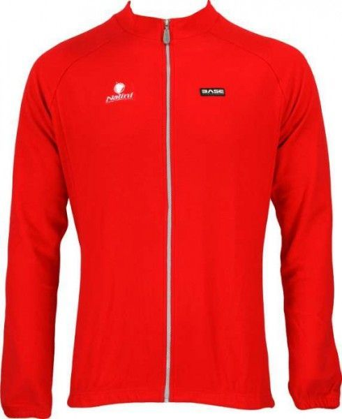 EMATITE red - tricot (long sleeve jersey) - NALINI cycling clothing of the BASE - collection