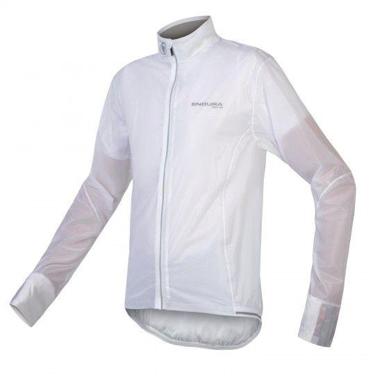 Endura FS-260 PRO Adrenalin Regenjacke weiß transparent 1