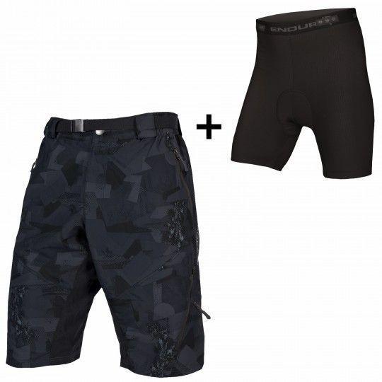 Endura HUMMVEE II Bike Shorts grey camo 1