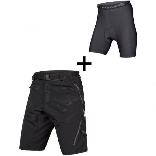 Endura HUMMVEE II Bike Shorts black camo 1
