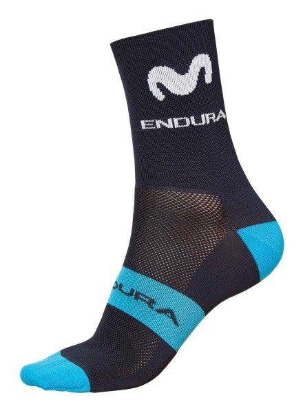 MOVISTAR 2019 cycling socks Endura professional cycling team