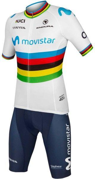 Movistar 2019 Weltmeister Radsport Set