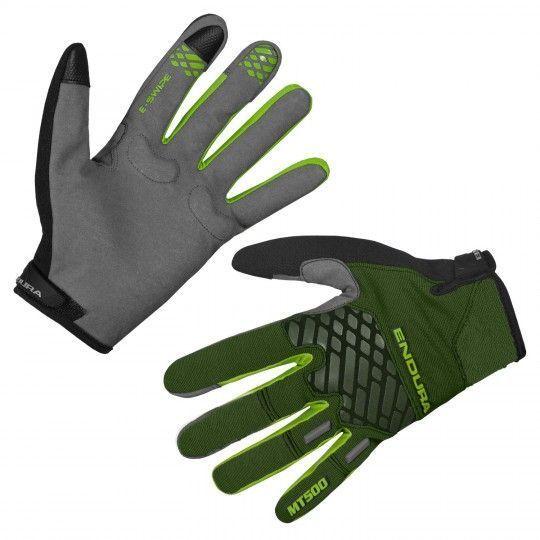 Endura MT500 II LTD MTB Handschuhe langfinger grün 1