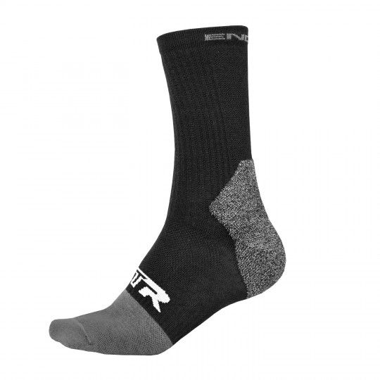 Endura MTR WINTER Radsocken schwarz (E1182BK) L-XL (42.5-47 / 9-12.5)
