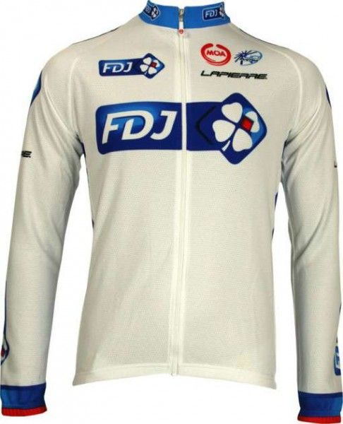 Francaise des Jeux (FdJ) - Tour 2010 Nalini professional team - cycling long sleeve jersey