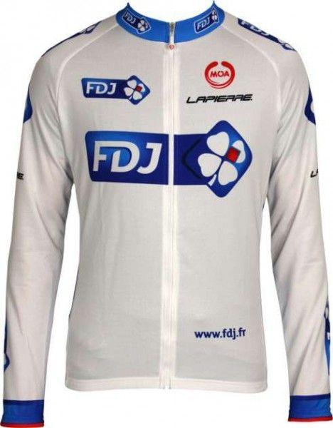 FRANCAISE DES JEUX (FDJ) 2011 MOA Radsport-Profi-Team - Langarmtrikot Größe XXXL (7)