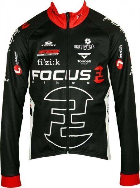 FOCUS 2012 Giessegi Radsport-Profi-Team - Winterjacke schwarz