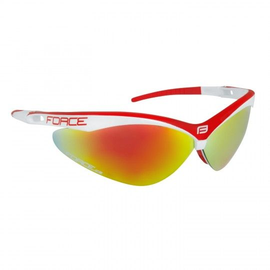 Force AIR Rad-/ Sportbrille weiß/rot 1