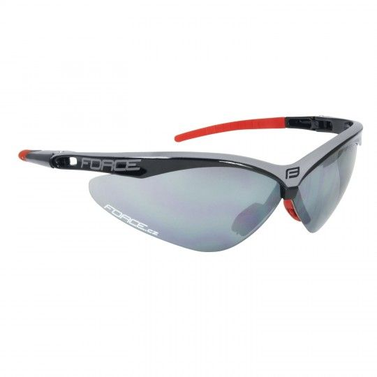 Force AIR Radbrille schwarz/grau 1