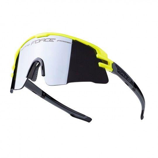 Force AMBIENT Rad- / Sportbrille neongelb 1