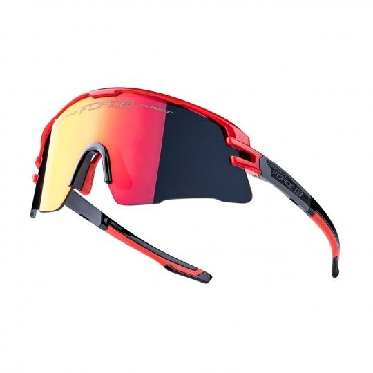 Force AMBIENT Rad- / Sportbrille rot/grau 1