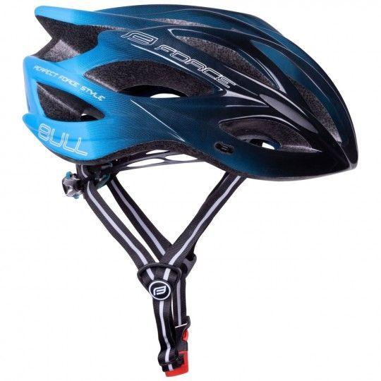 Force BULL HUE Fahrradhelm schwarz/blau 1