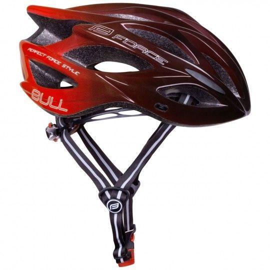 Force BULL HUE Fahrradhelm schwarz/rot 1