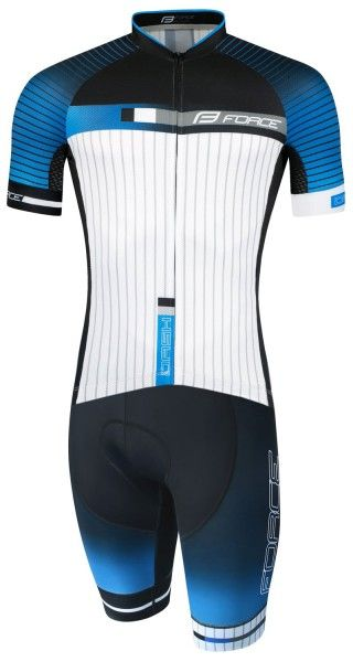 Force DASH Radsportset blau/schwarz 1