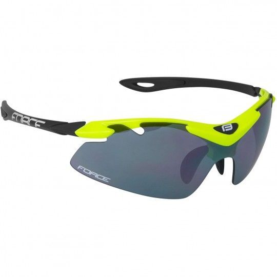 Force DUKE Rad-/Sportbrille neongelb 1