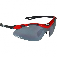 Force DUKE Rad-/Sportbrille rot schwarz 1